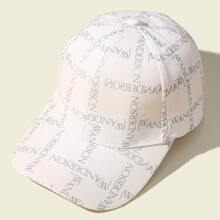 Letter Graphic Baseball Cap