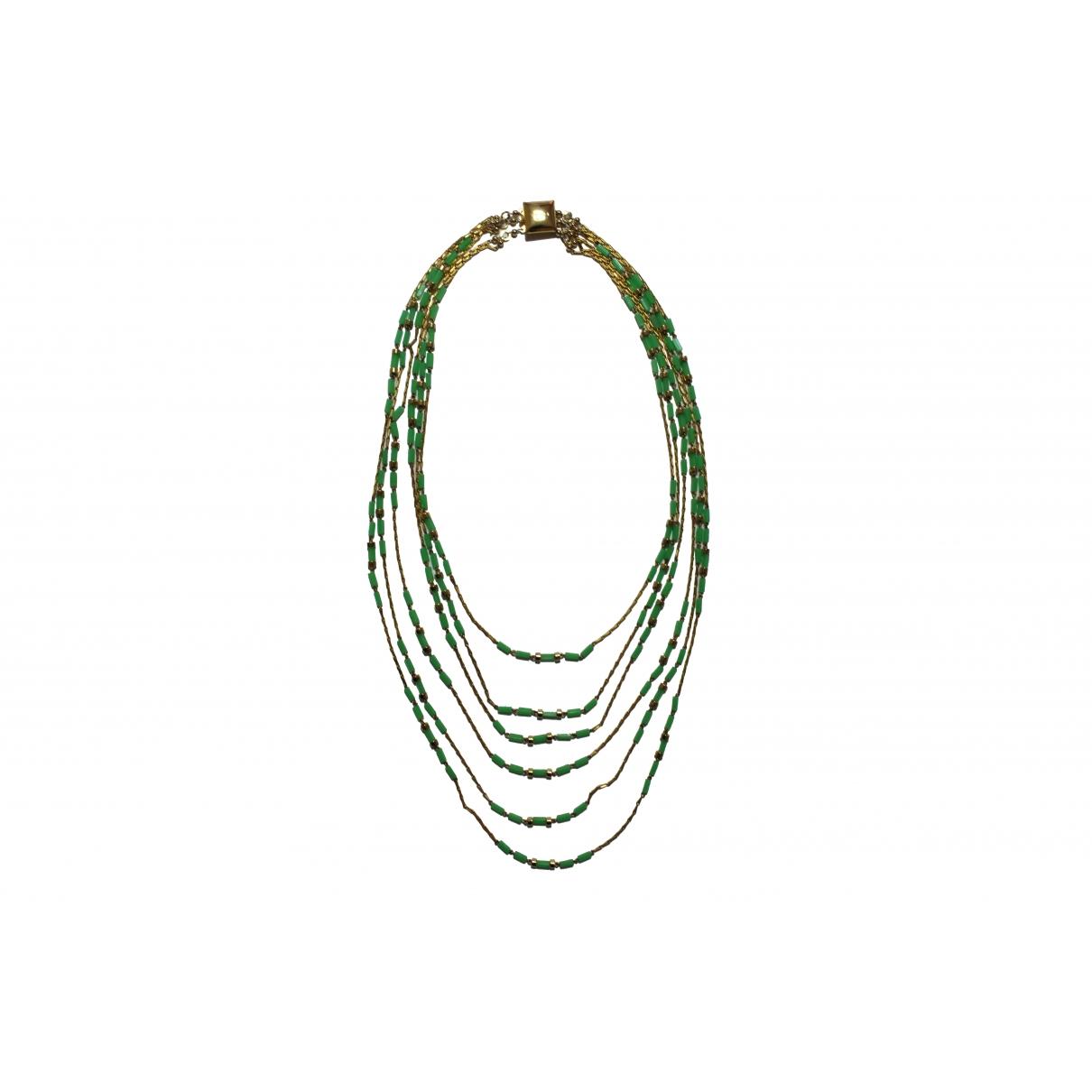 Loewe - Sautoir   pour femme en metal - vert