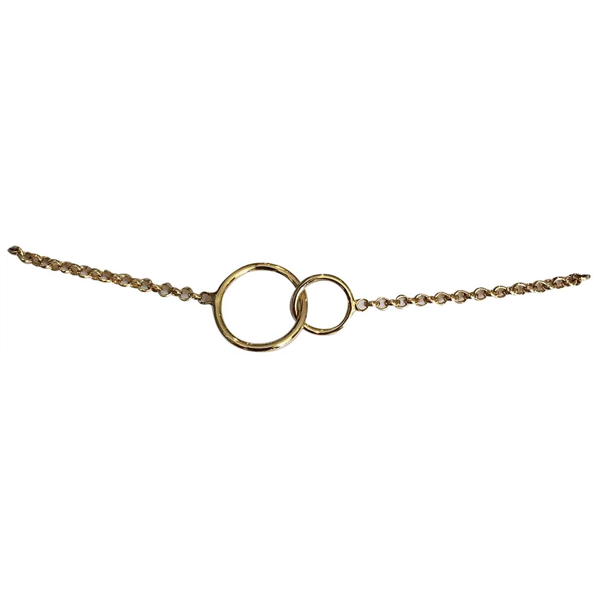 - Bracelet   pour femme en chaine - dore