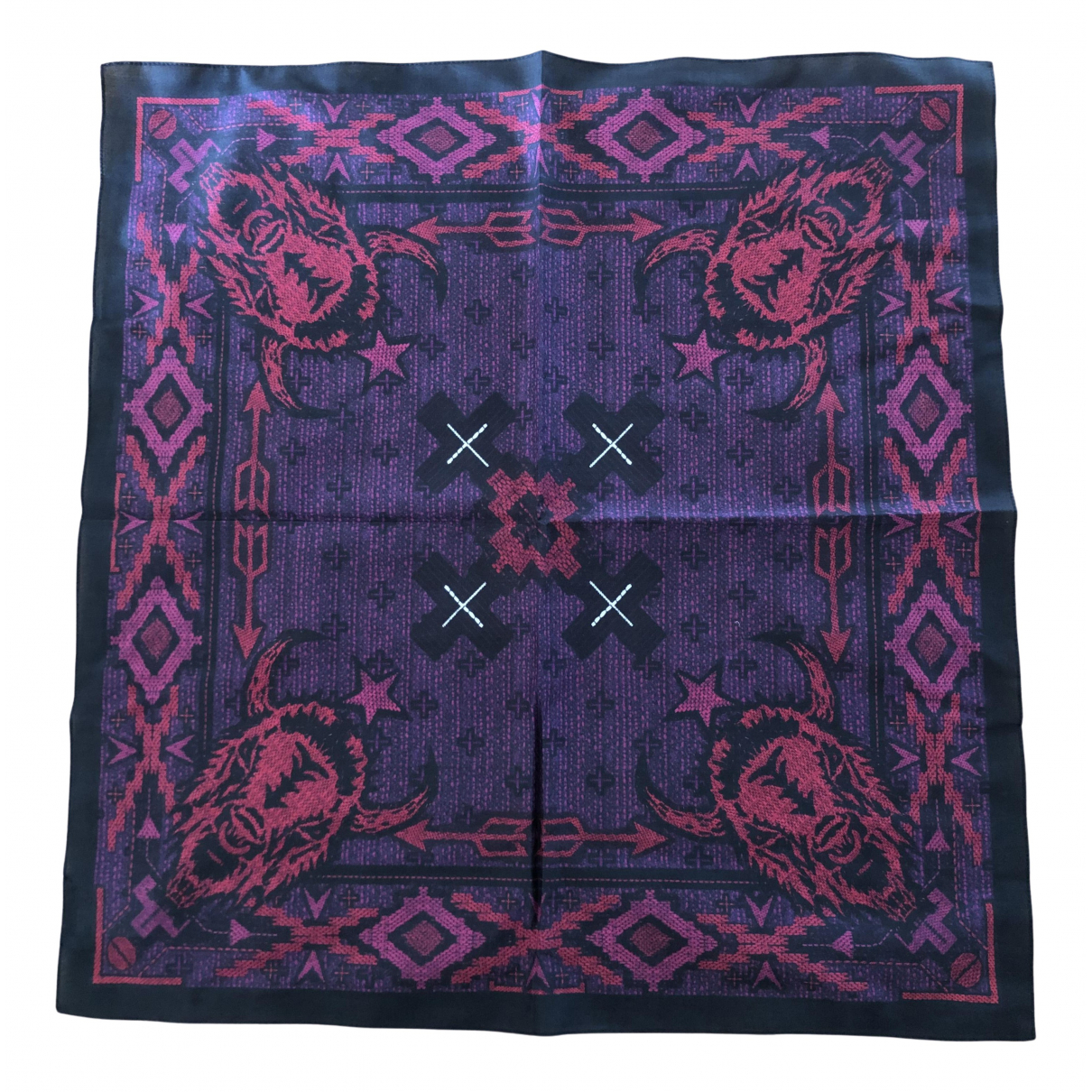 Givenchy N Burgundy Cotton scarf for Women N