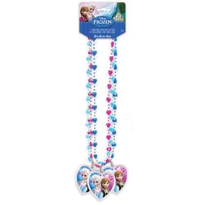 Frozen 3 Bead Necklaces Pour la fête d'anniversaire