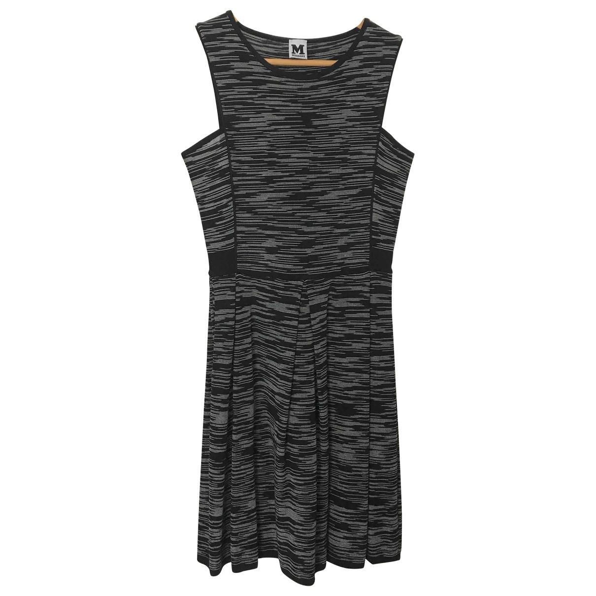 M Missoni \N Kleid in  Grau Baumwolle