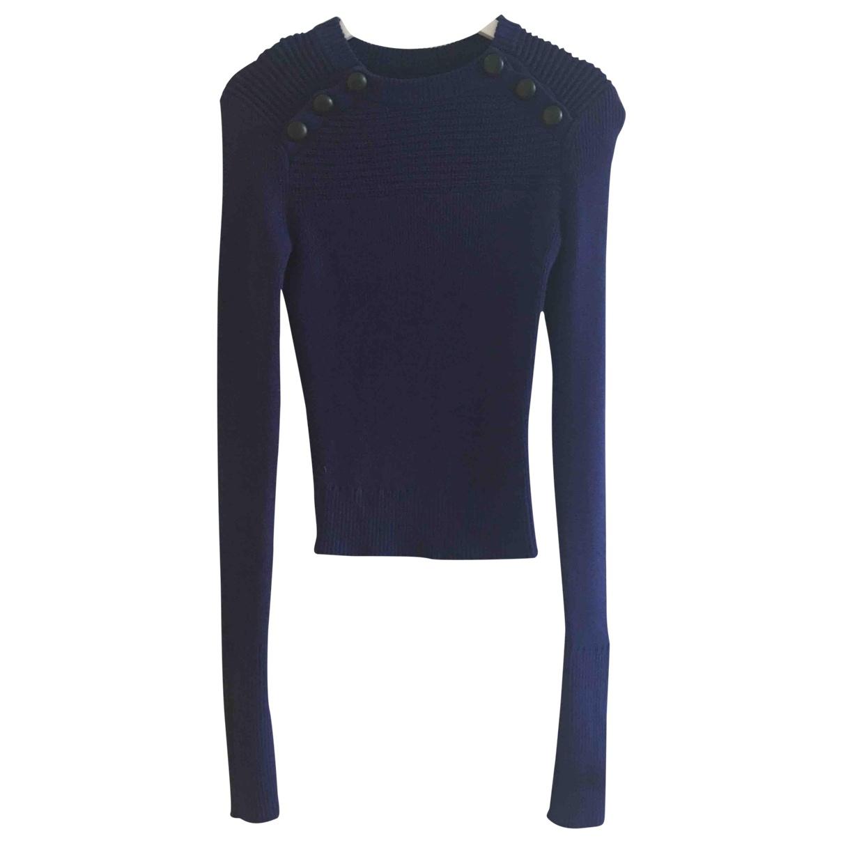 Isabel Marant Etoile - Pull   pour femme en coton - bleu