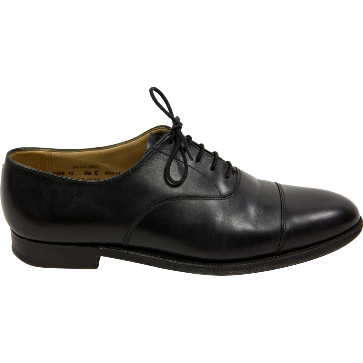 Crockett& Jones \N Black Leather Lace ups for Men 42.5 EU