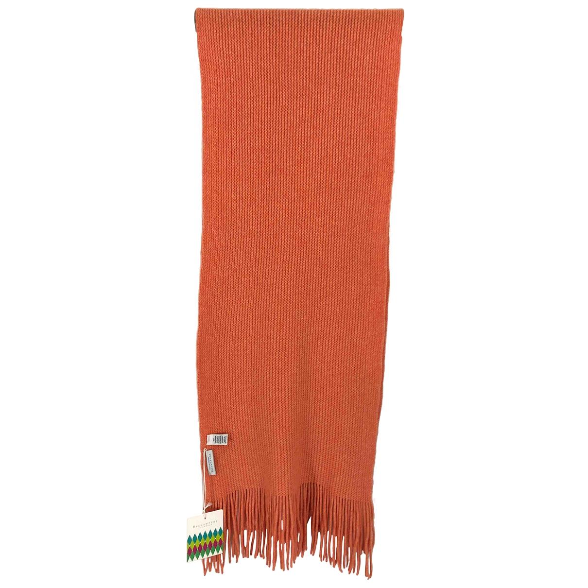 Ballantyne - Foulard   pour femme en cachemire - orange
