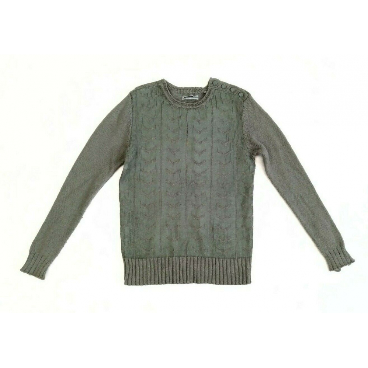 Karl Lagerfeld \N Khaki Cotton Knitwear & Sweatshirts for Men M International
