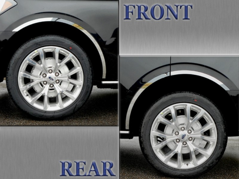 Quality Automotive Accessories  Wheel Well Accent Trim Ford Expedition 18-19