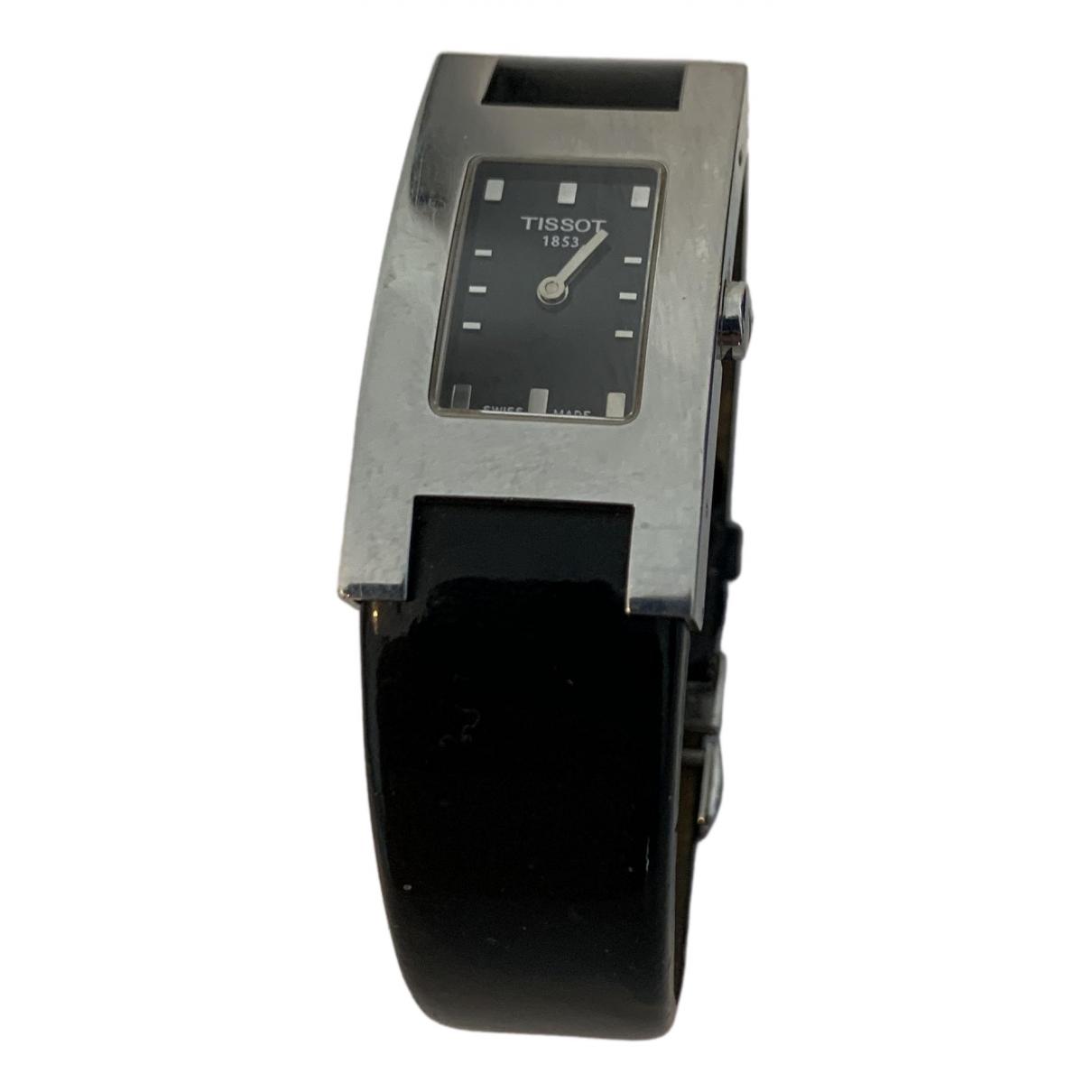 Tissot \N Black Steel watch for Women \N