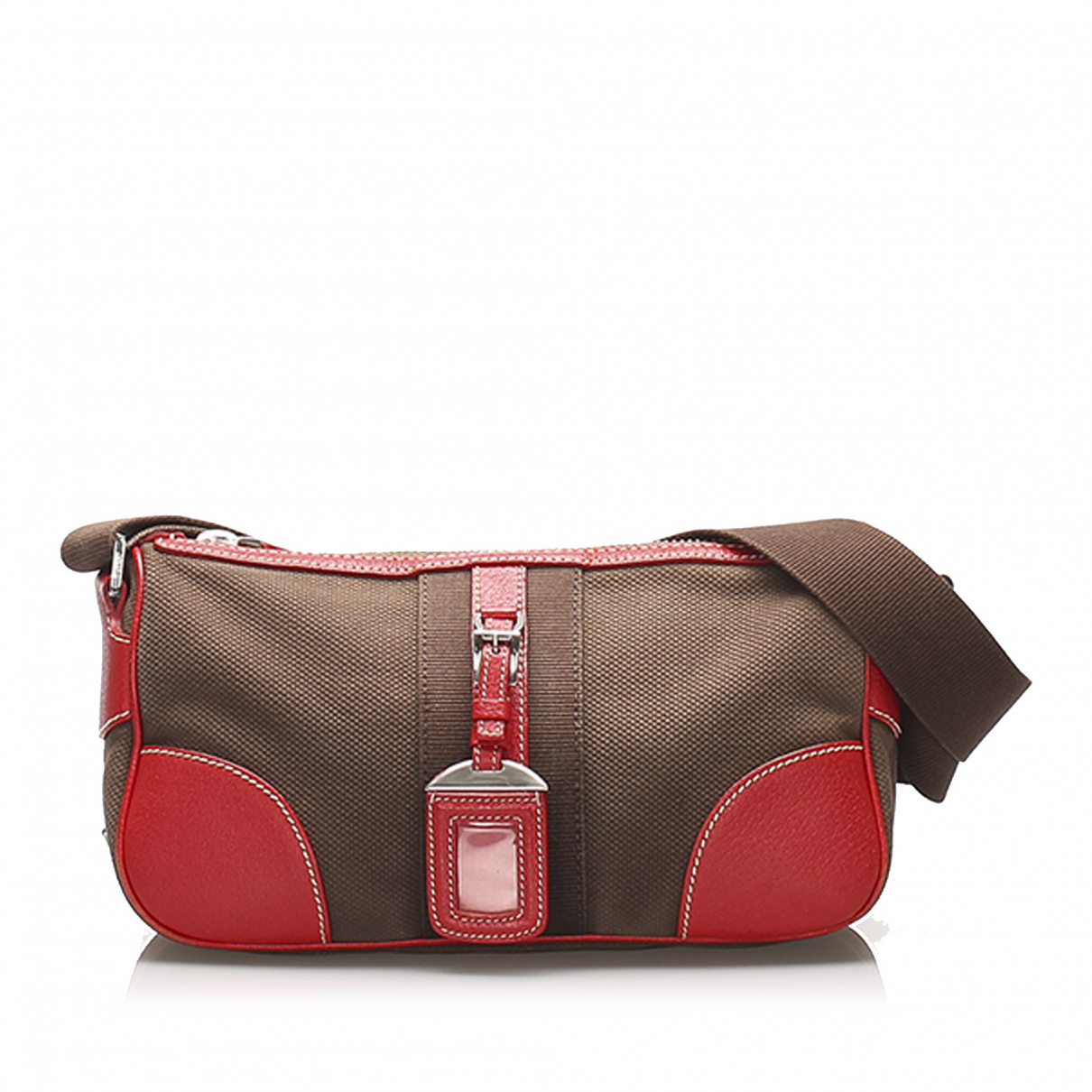 Prada N Brown Cloth handbag for Women N