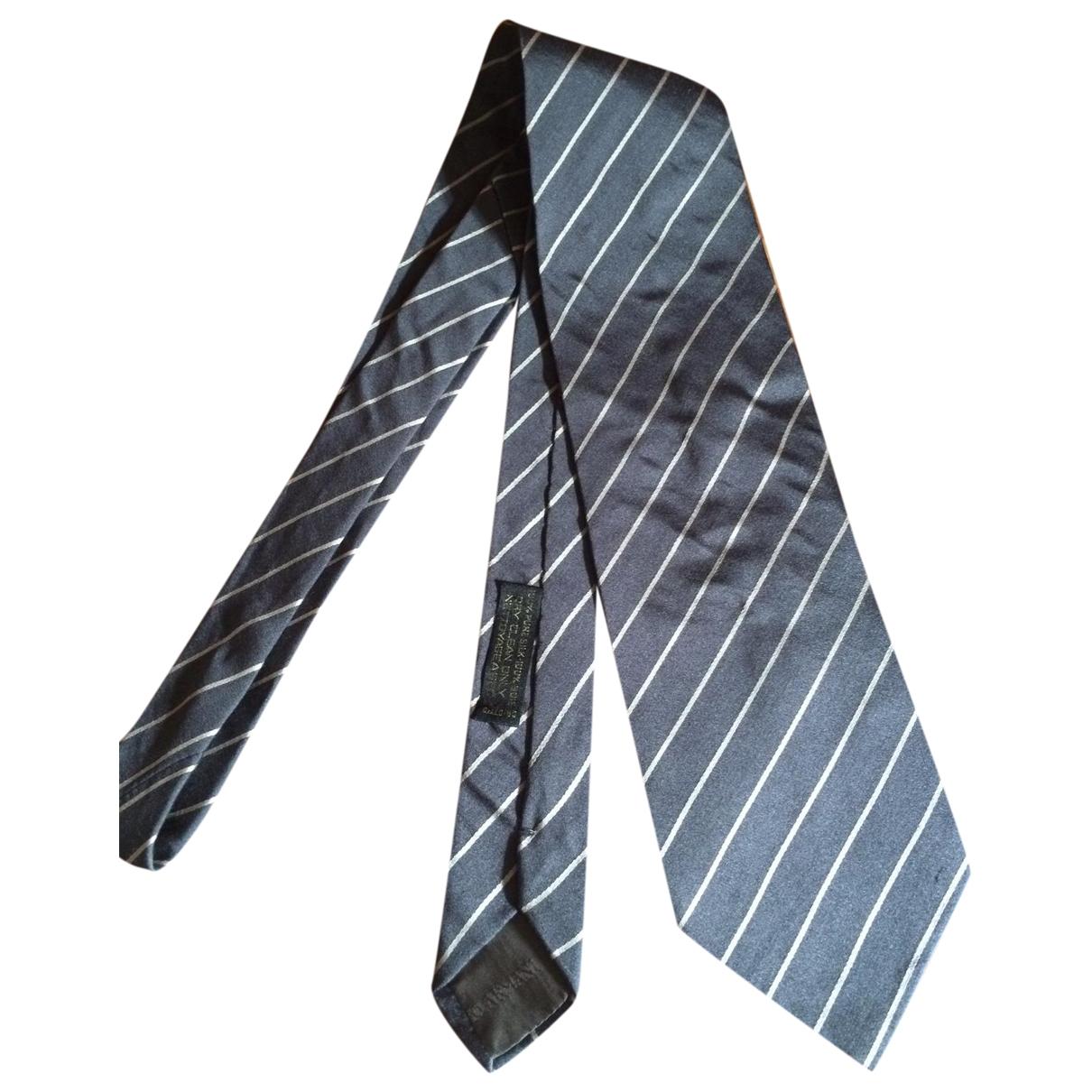 Corbata de Seda Giorgio Armani