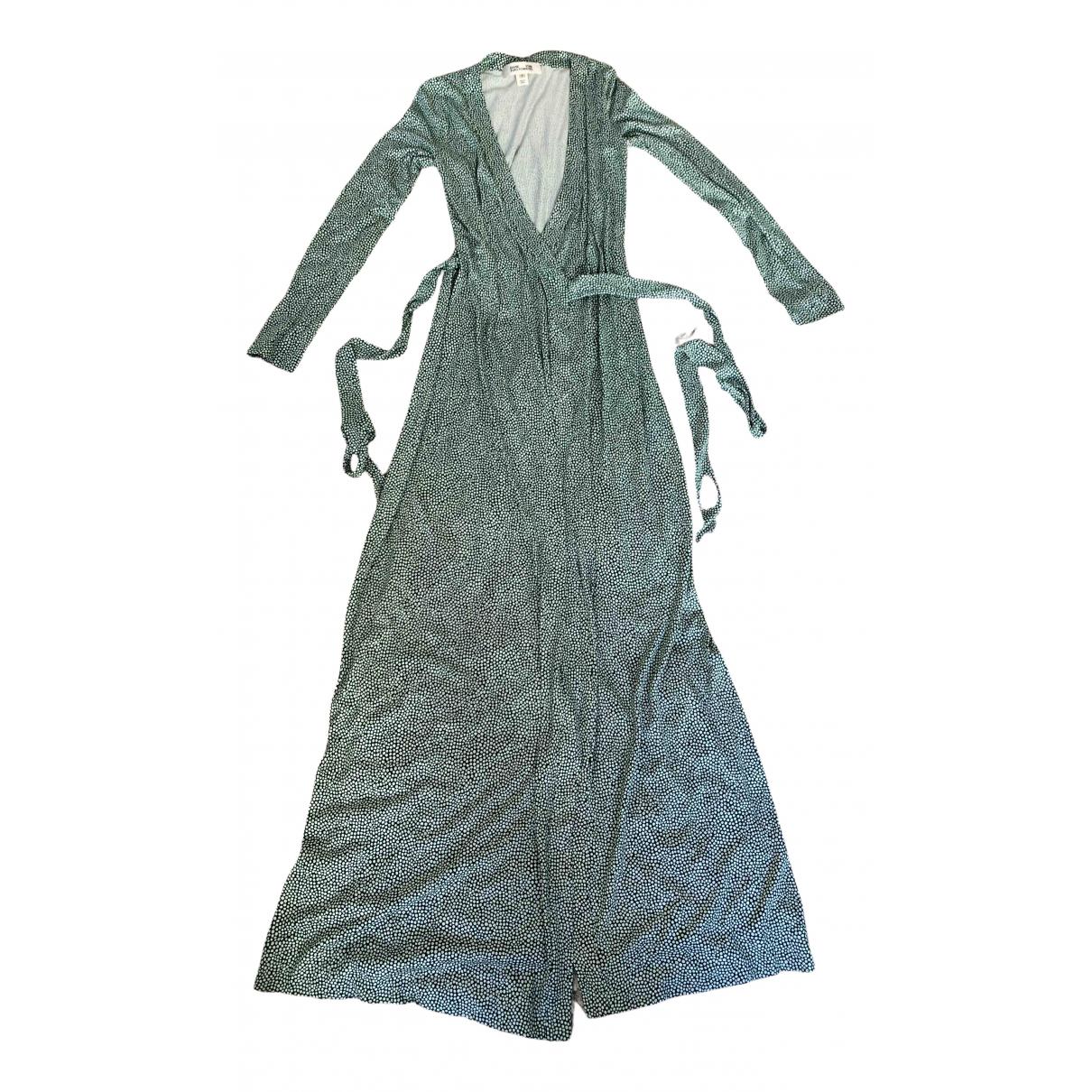 Diane Von Furstenberg N Green Silk dress for Women 6 US