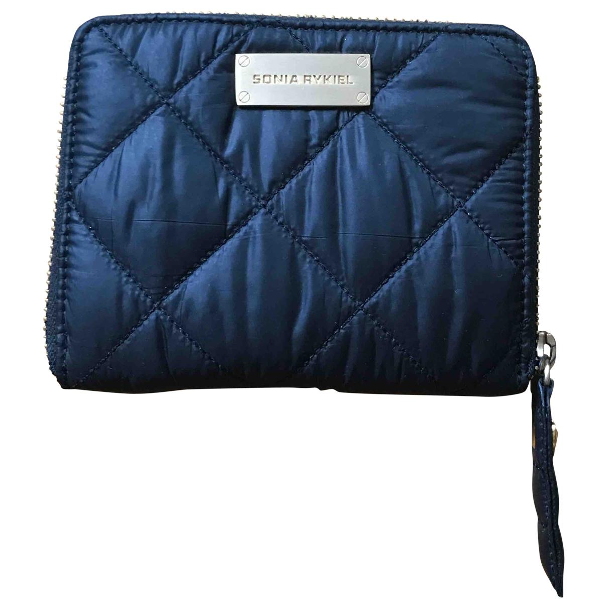 Sonia Rykiel \N Black Cloth wallet for Women \N
