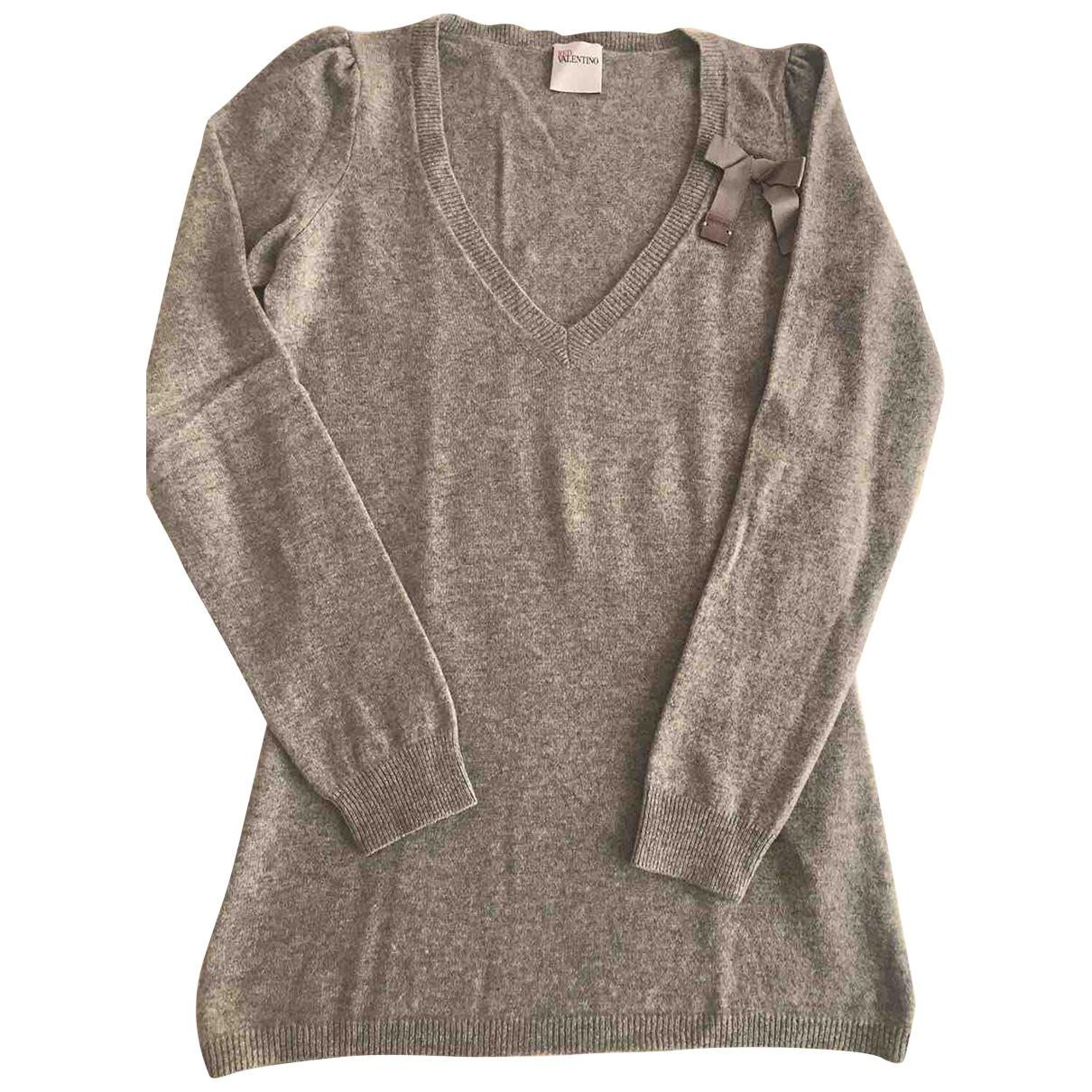 Red Valentino Garavani - Pull   pour femme en cachemire - gris