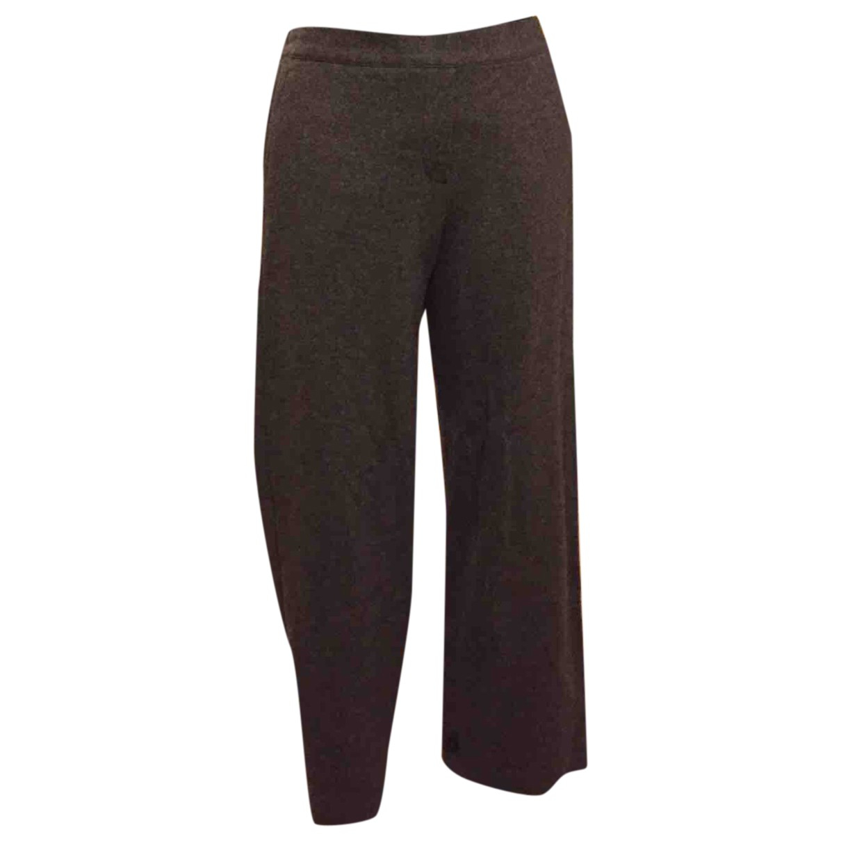 Theory \N Grey Wool Trousers for Women XS International