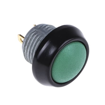 ITW 59 Single Pole Single Throw (SPST) Momentary Clear LED Miniature Push Button Switch, IP67, 13.65 (Dia.)mm, Panel (50)