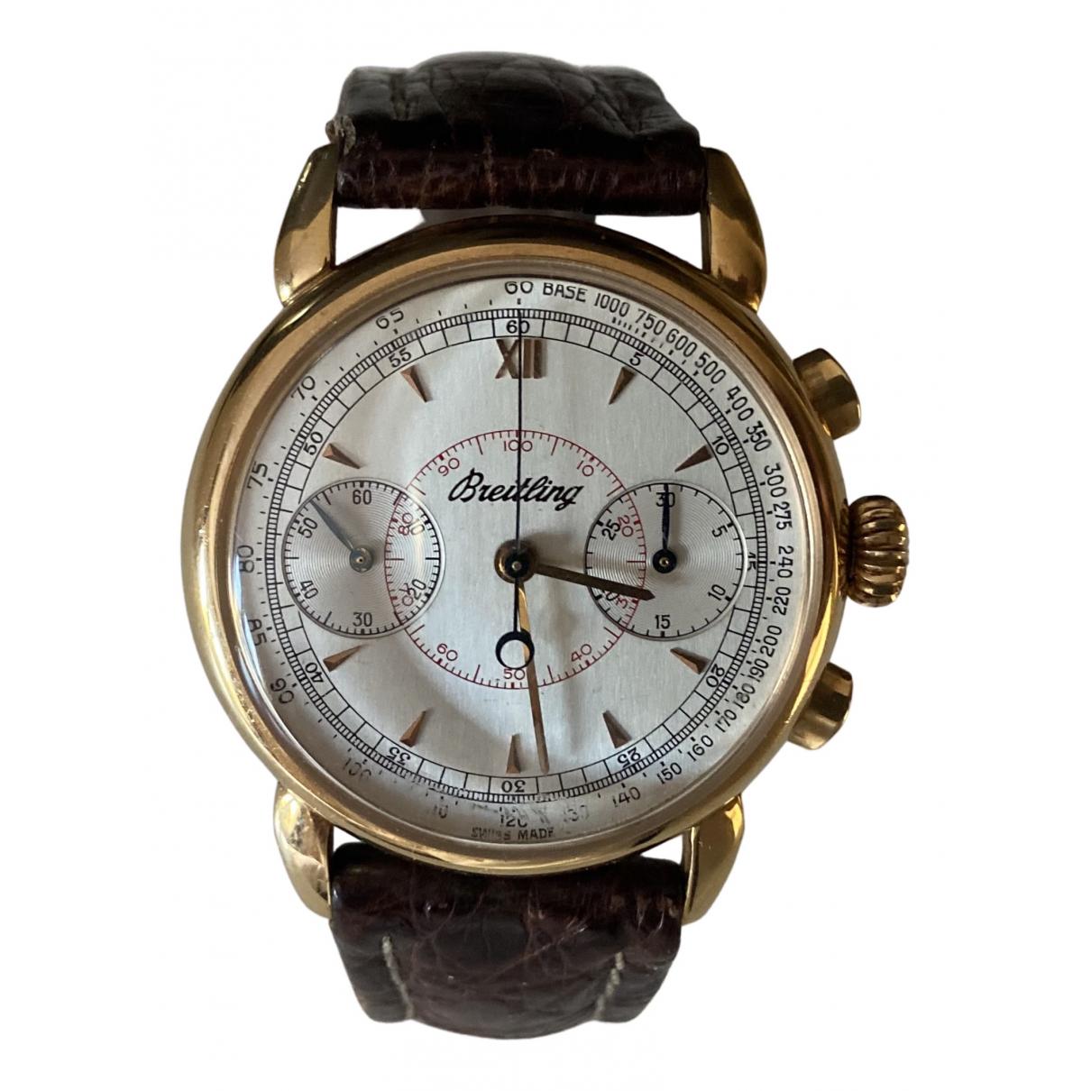 Relojes de Oro amarillo Breitling