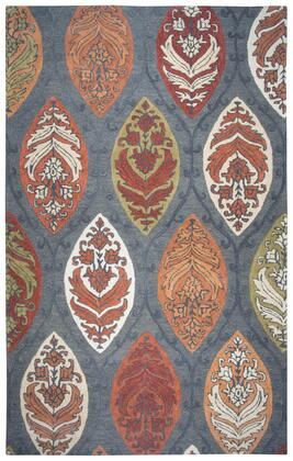 RESRS775A33DA0810 Resonant Transitional Area Rug Size 8' X 10'  in