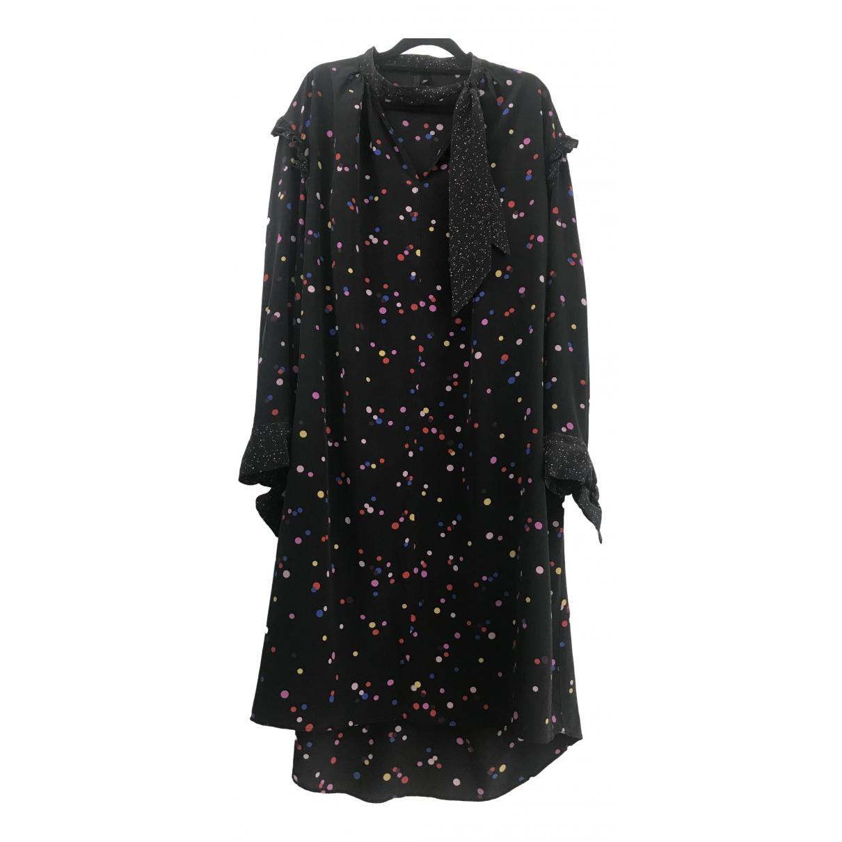 Topshop Boutique - Robe   pour femme en soie - multicolore