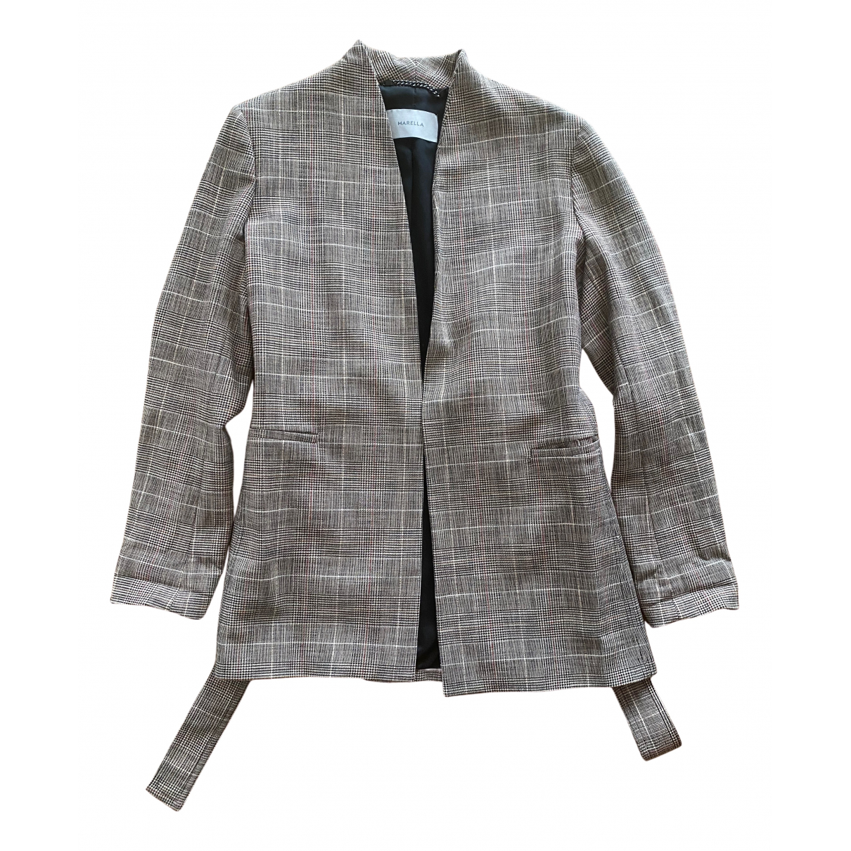 Marella \N Grey Wool jacket for Women 36 FR