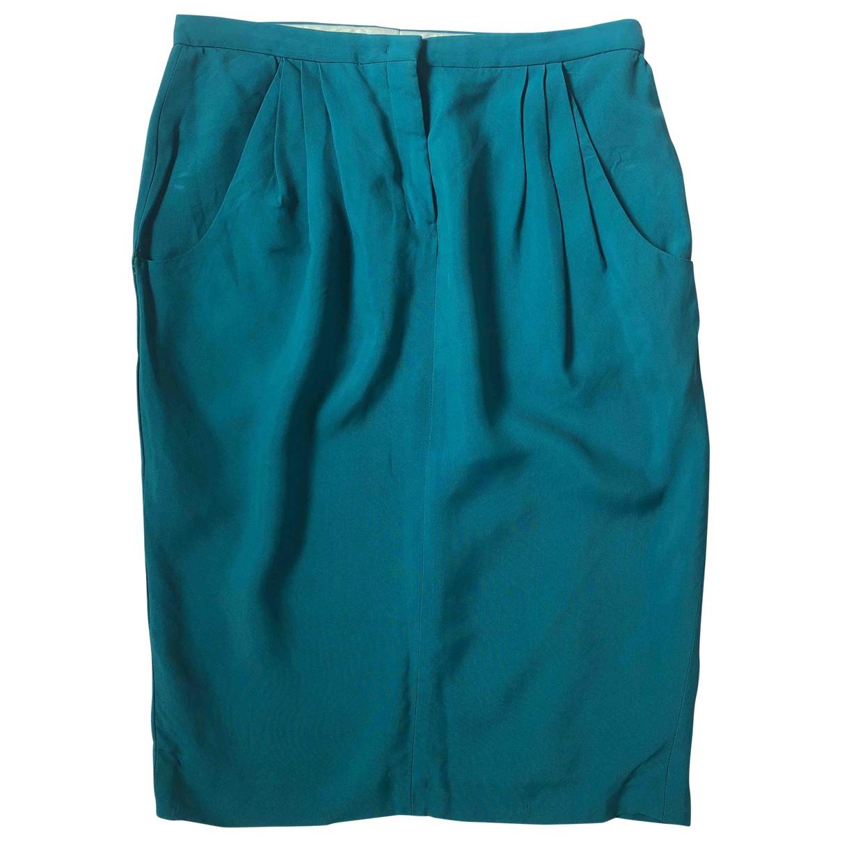 Jil Sander - Jupe   pour femme - turquoise