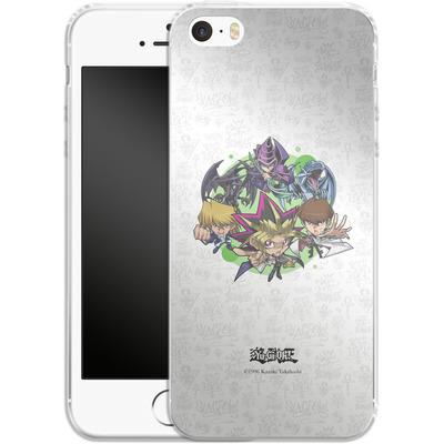 Apple iPhone SE Silikon Handyhuelle - Yu-Gi-Oh! SD Group 1 von Yu-Gi-Oh!