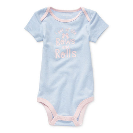 Okie Dokie Baby Girls Bodysuit, 24 Months , Blue