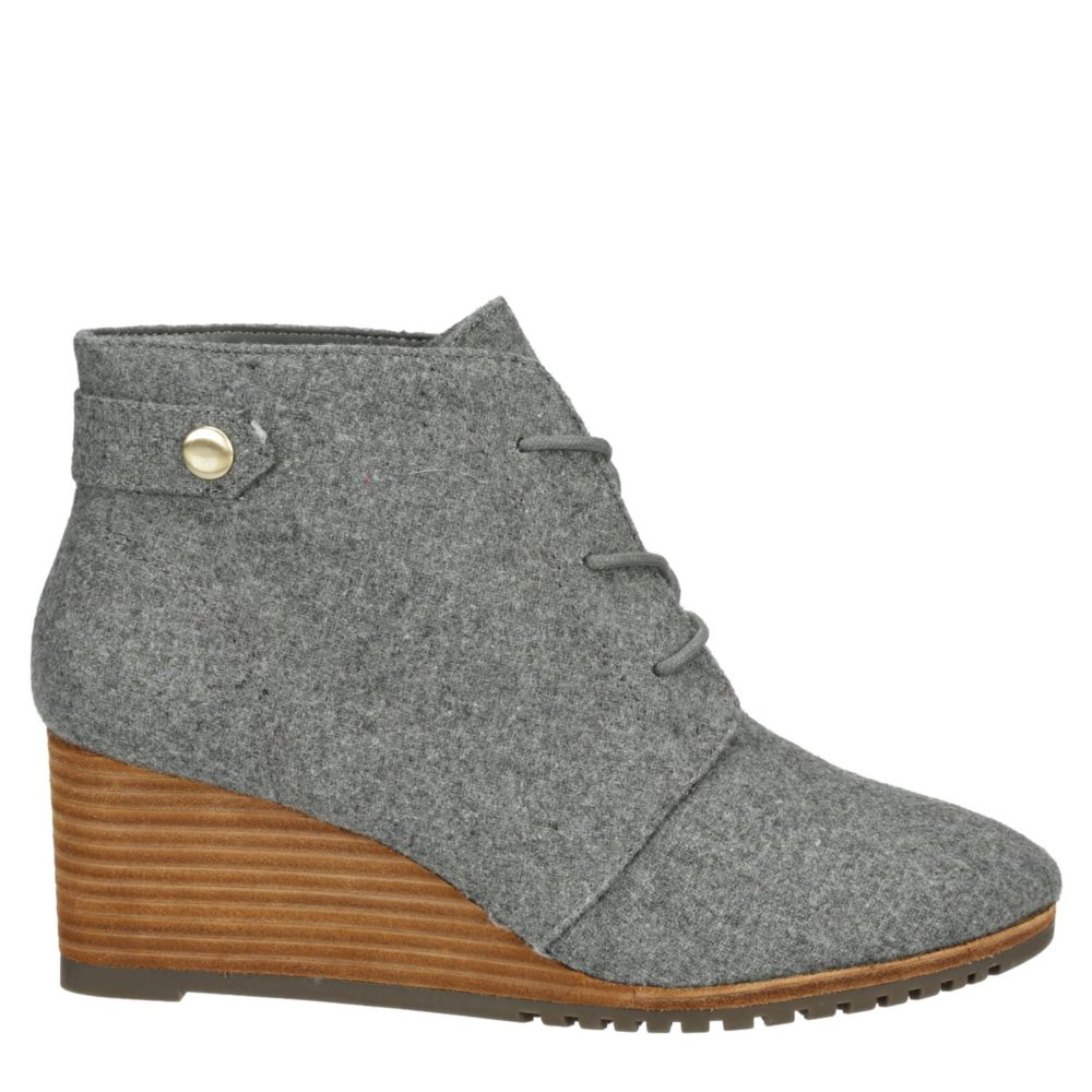 Dr. Scholl's Womens Conquer Wedge Bootie