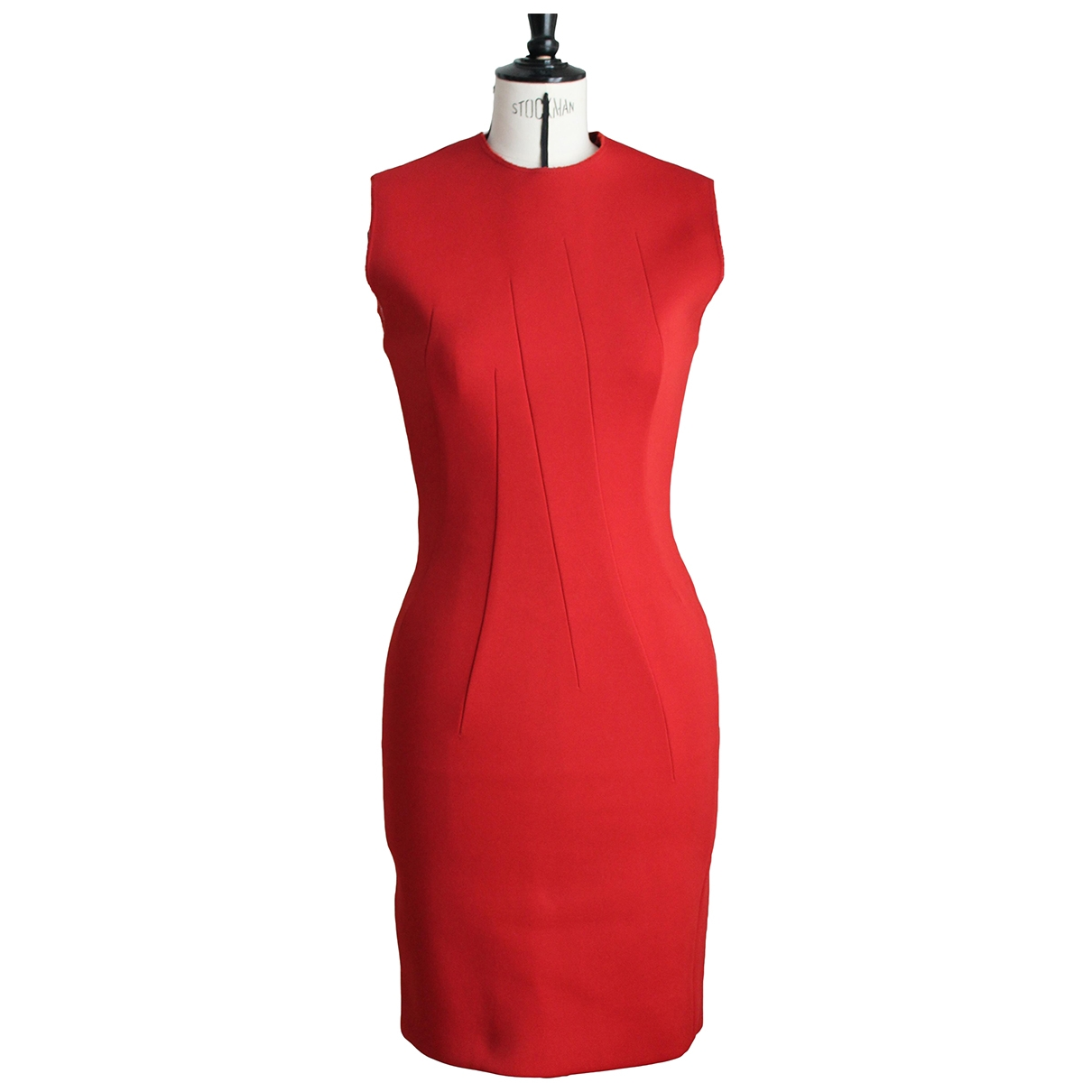 Lanvin \N Red dress for Women 36 FR