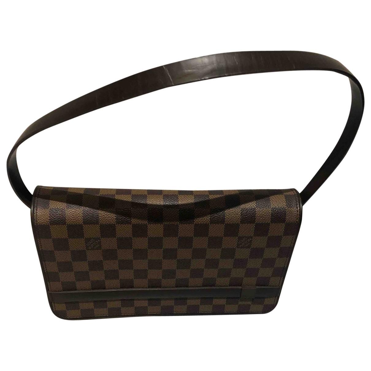 Louis Vuitton - Sac a main   pour femme en toile - marron