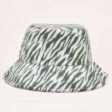 Fischerhut mit Zebra Muster