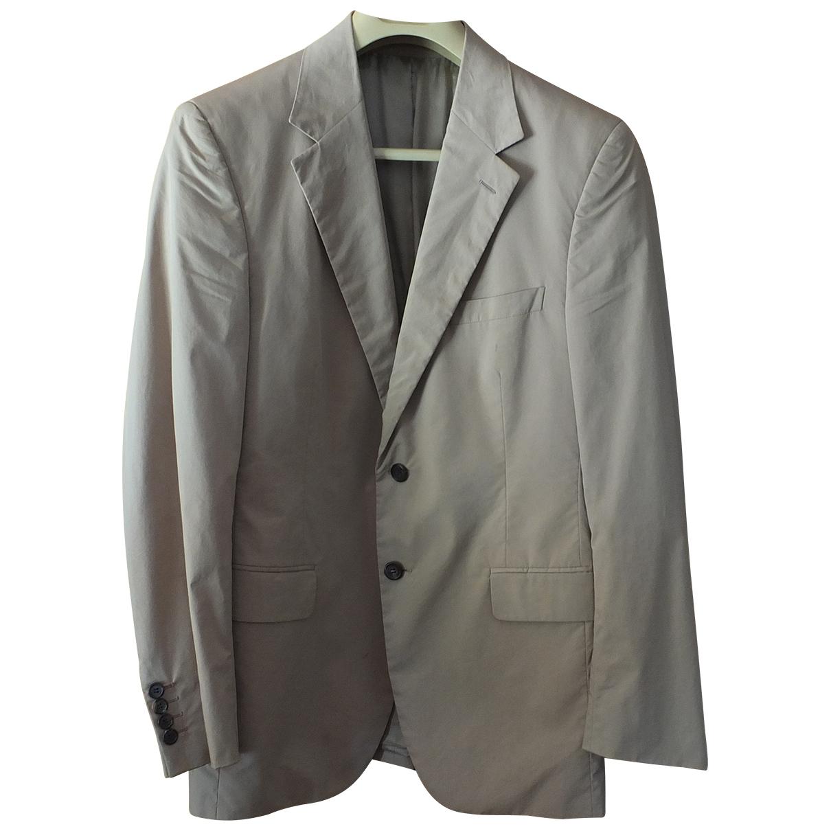 Prada \N Beige Cotton jacket  for Men 50 IT
