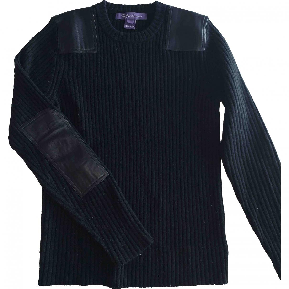 Ralph Lauren Purple Label \N Pullover in  Schwarz Wolle