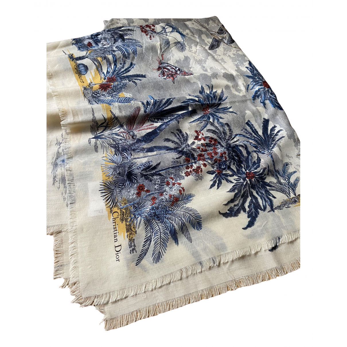 Dior - Foulard   pour femme en cachemire - multicolore
