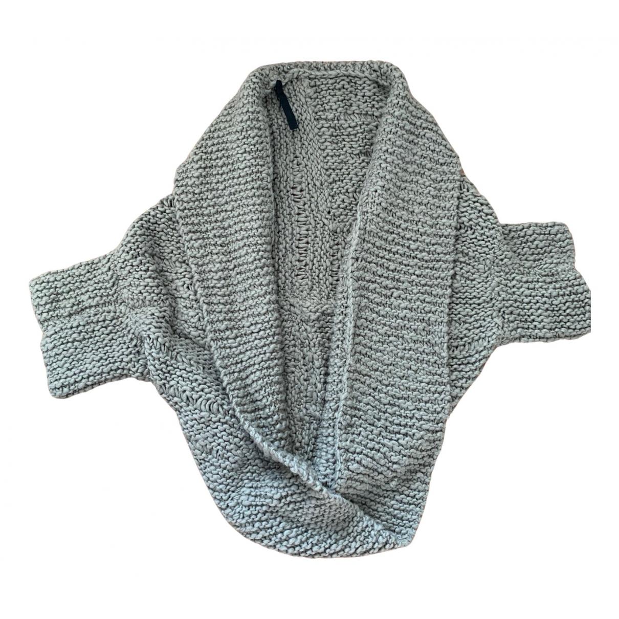 - Pull Kimono pour femme en laine - beige