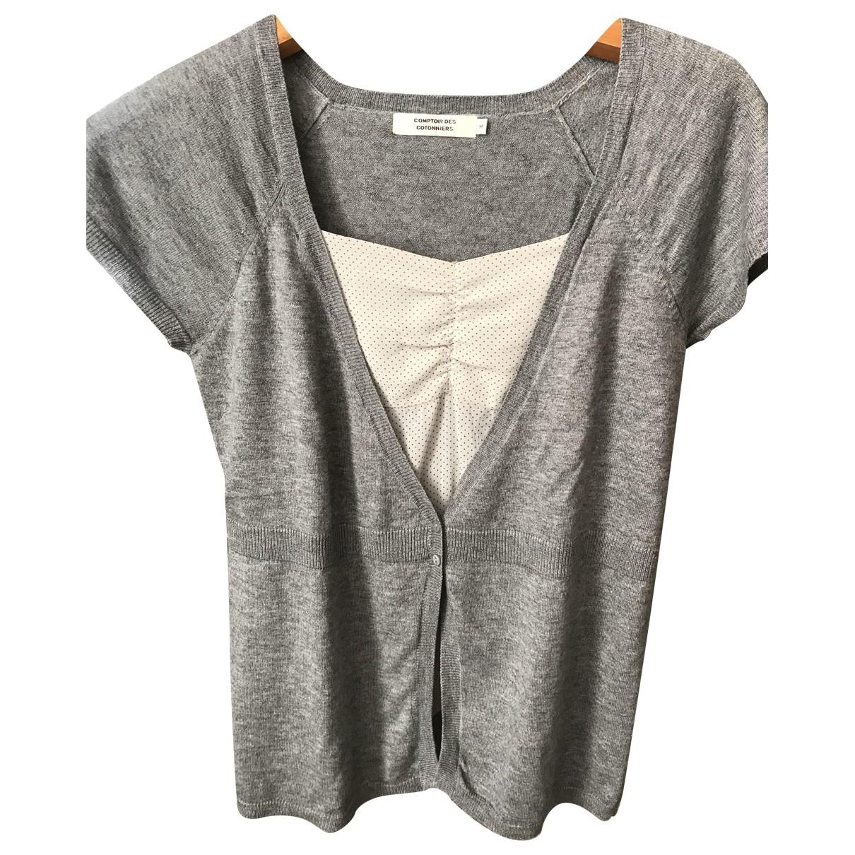 Comptoir Des Cotonniers \N Pullover in  Grau Wolle