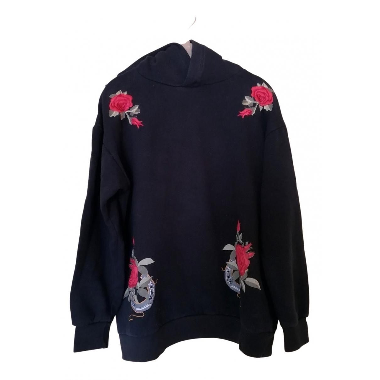 Zara - Pulls.Gilets.Sweats   pour homme en coton - noir