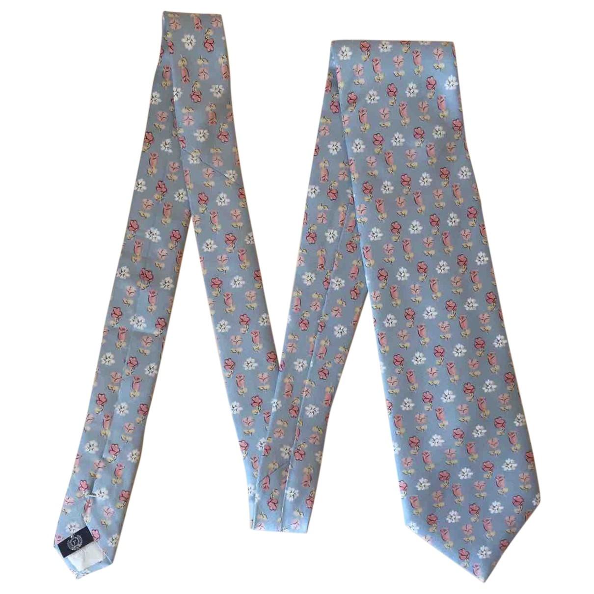 Faconnable \N Blue Silk Ties for Men \N