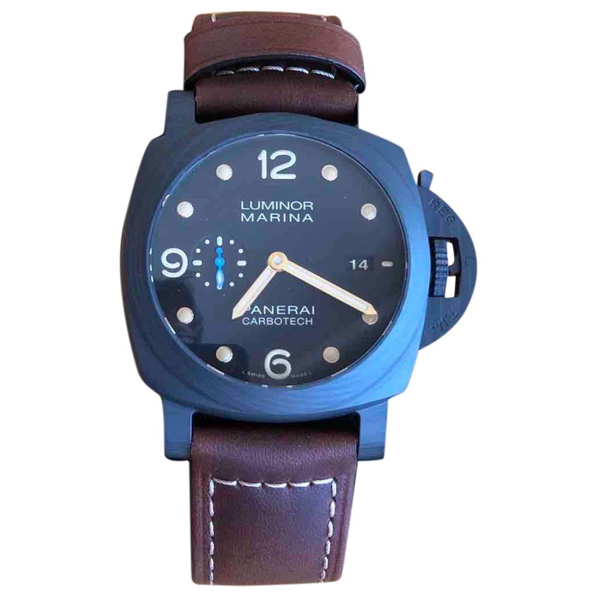 Panerai Luminor  Black watch for Men \N
