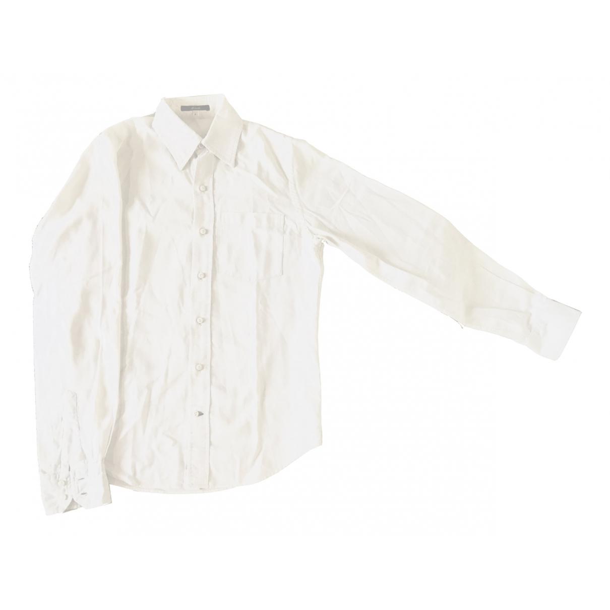 Brandy Melville - Chemises   pour homme en coton - blanc