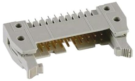 HARTING , SEK 18, 16 Way, 2 Row, Straight PCB Header
