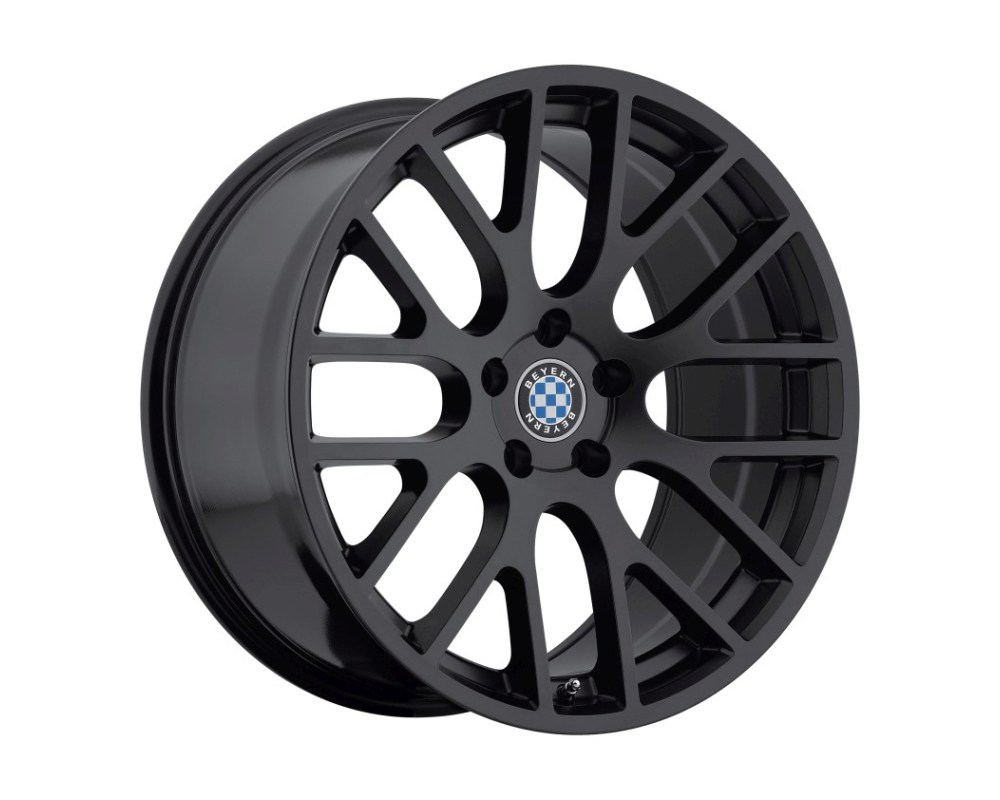 Beyern Spartan Wheel 17x8 5x120 15mm Matte Black