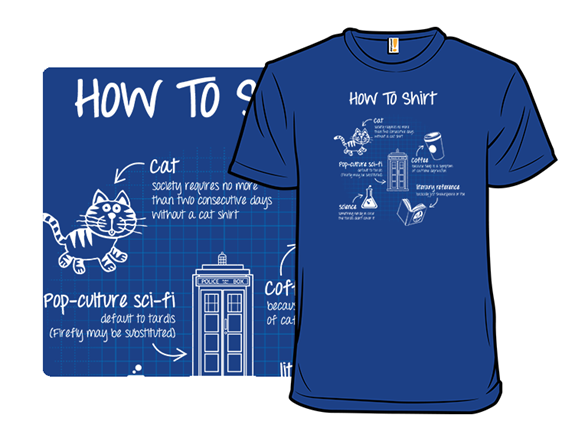 How To Shirt T Shirt