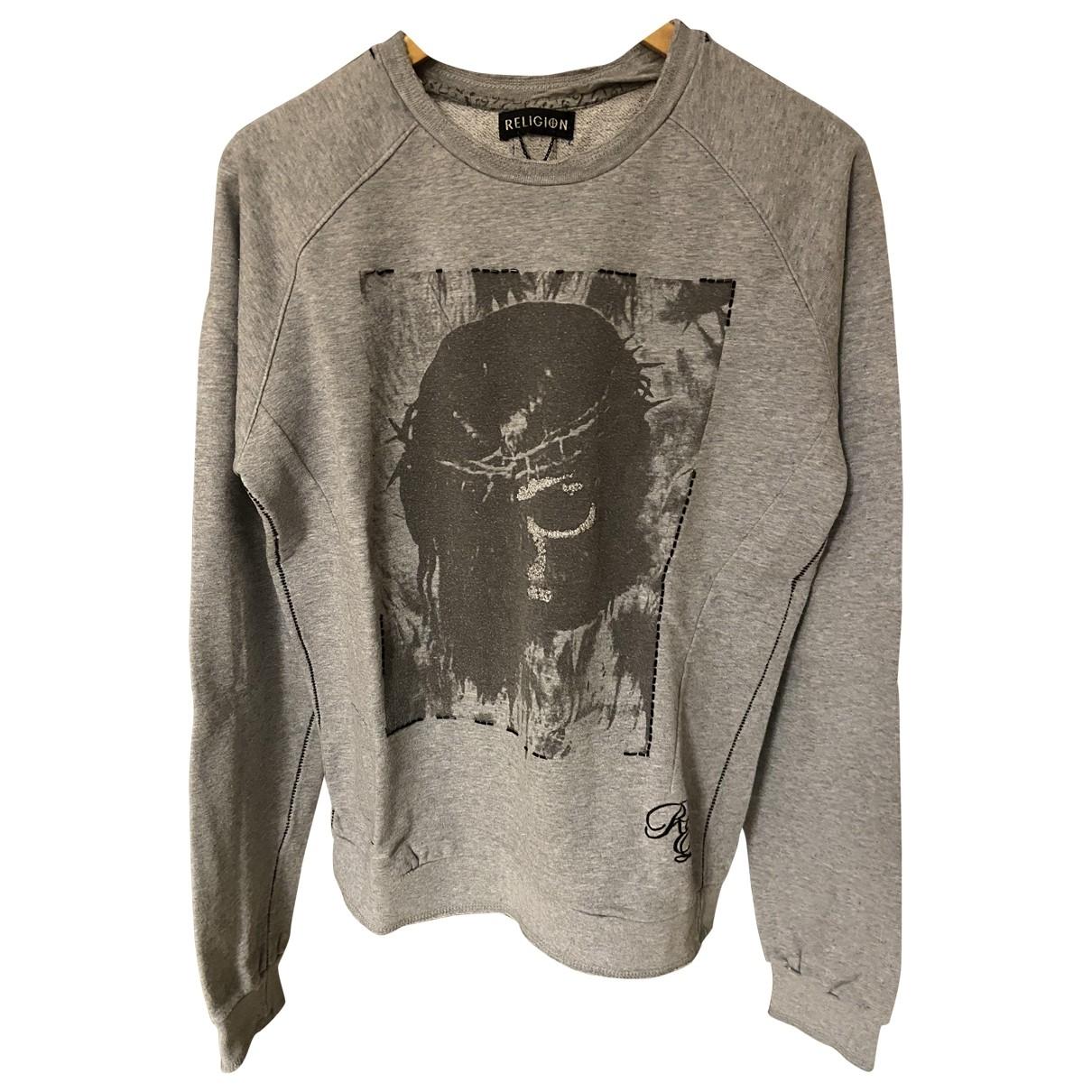 Religion \N Pullover.Westen.Sweatshirts  in  Beige Baumwolle