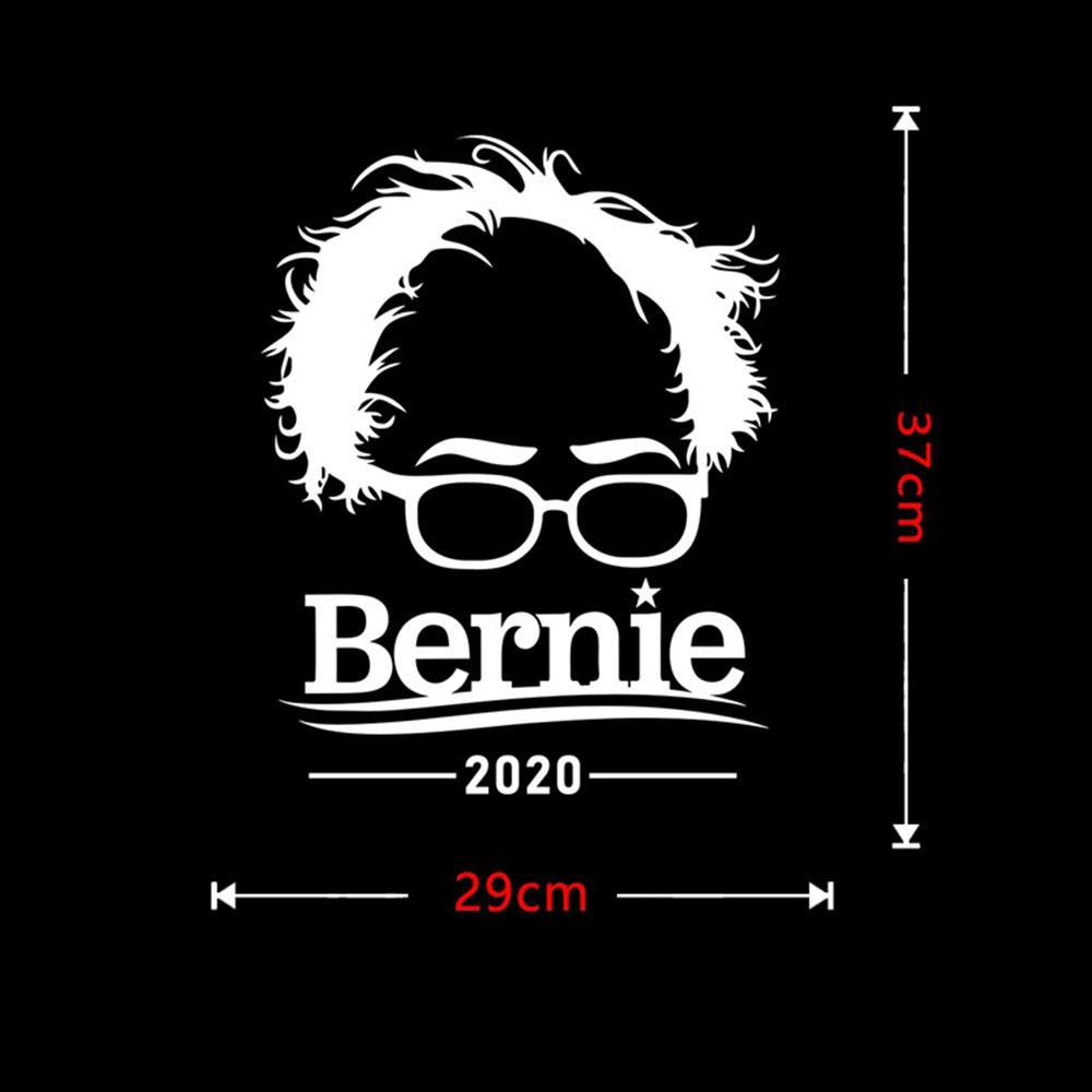 Car Stickers 2020 US Presidential Election Stickers Bernie Car Body Decoration Sticker Removable