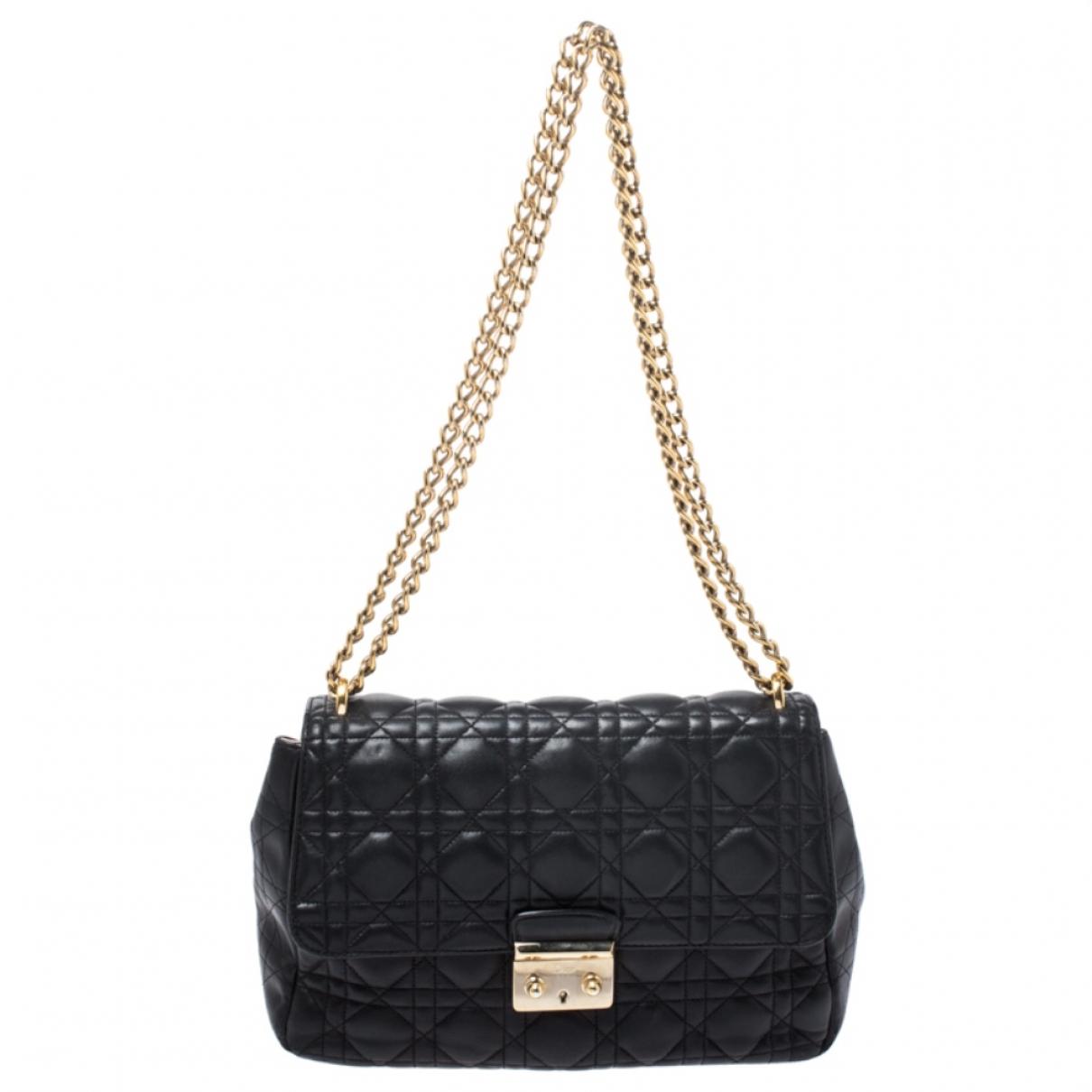 Dior Miss Dior Black Leather handbag for Women \N