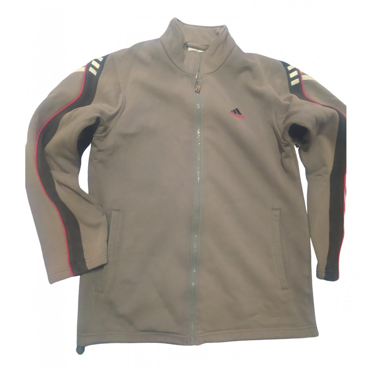Adidas \N Pullover.Westen.Sweatshirts  in  Grau Baumwolle