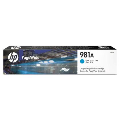 HP 981A J3M68A cartouche d'encre PageWide originale cyan