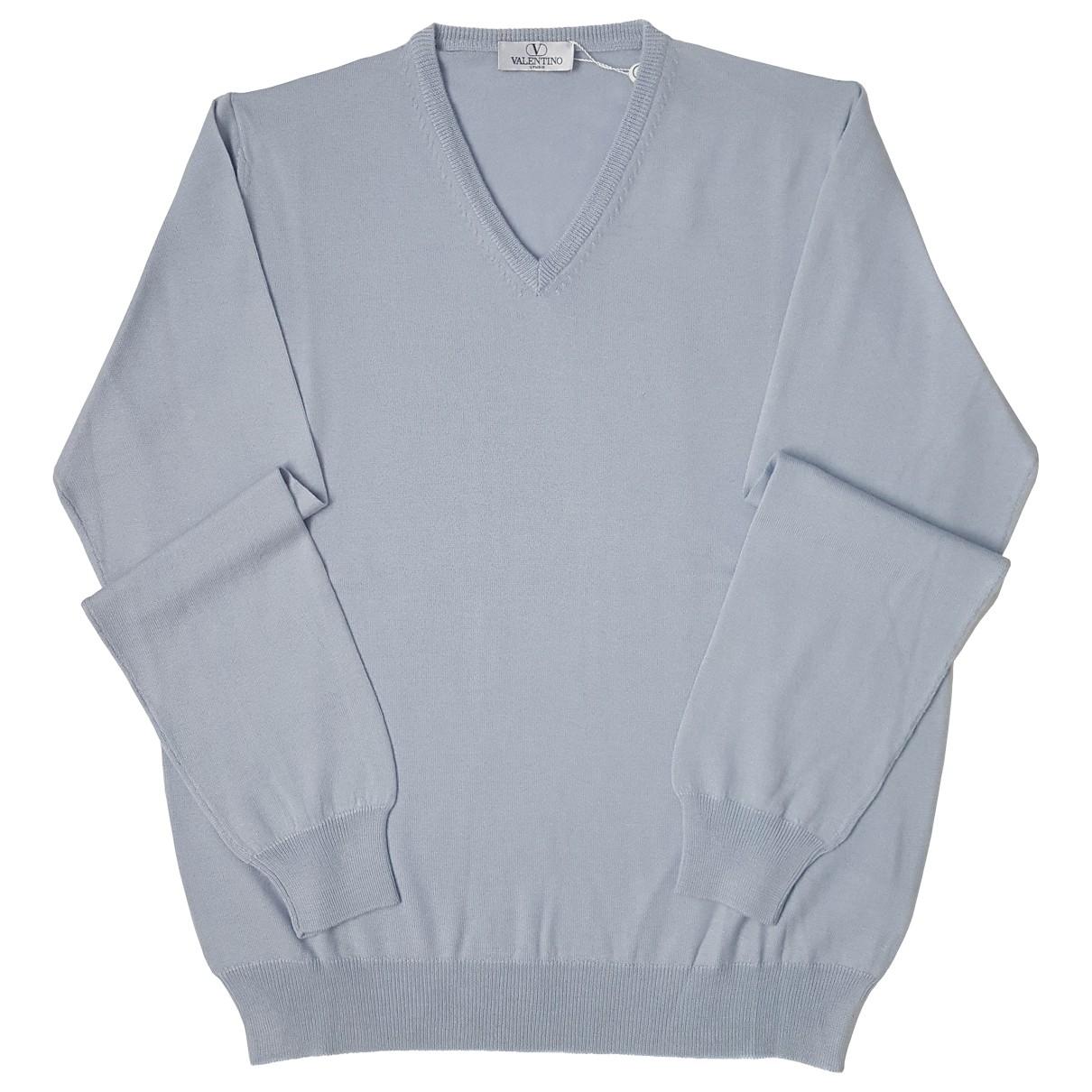 Valentino Garavani - Pulls.Gilets.Sweats   pour homme en laine - gris
