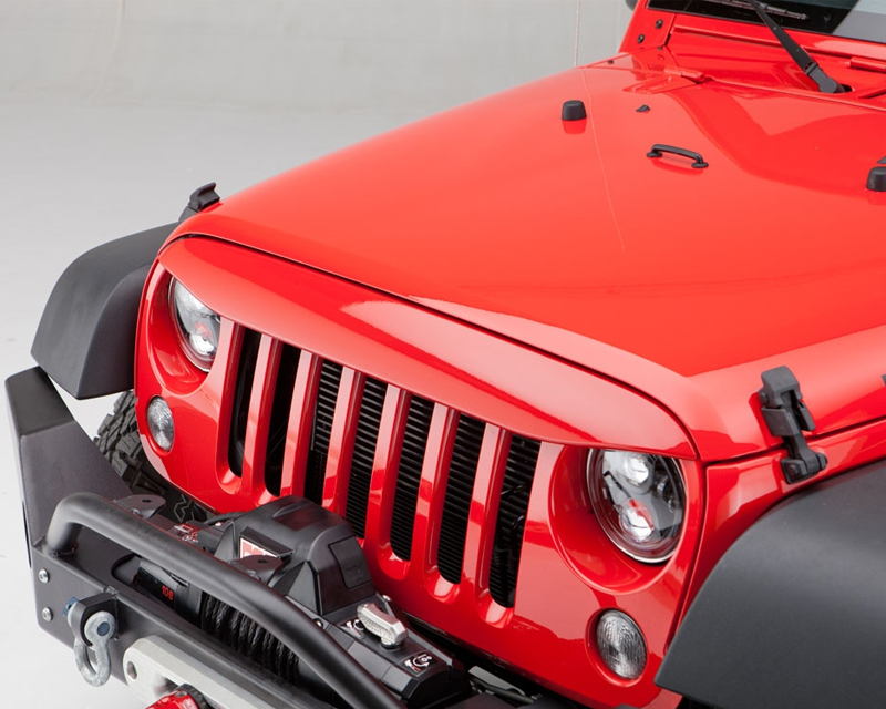 Undercover NH1001-PGK PGK- Tank Nighthawk Light Brow Jeep JK Wrangler 2 and 4-door models 07-16