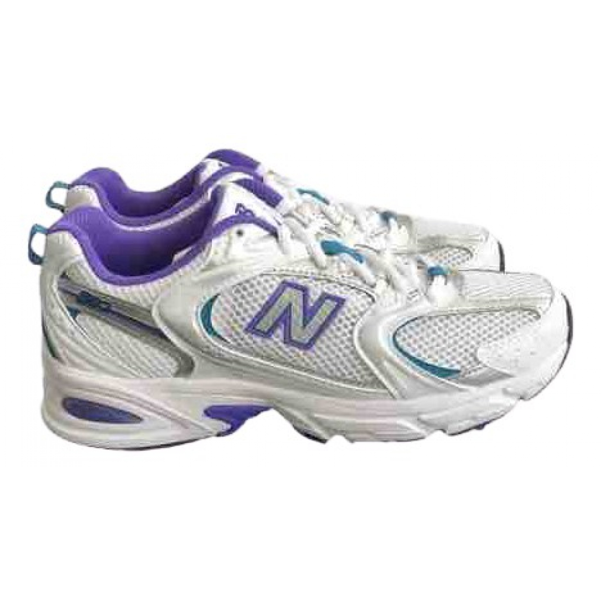 New Balance \N Sneakers in  Weiss Polyester